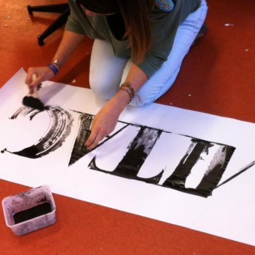Atelier calligraphie et typographie