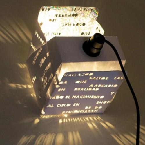 Des luminaires pour une librairie à Madrid...
