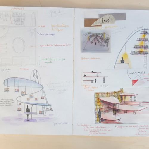 Cahiers de recherches design d'espace