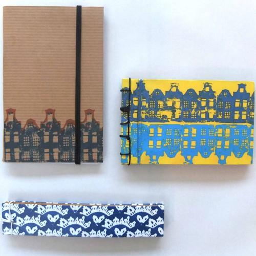 Des motifs pour une gamme de carnets