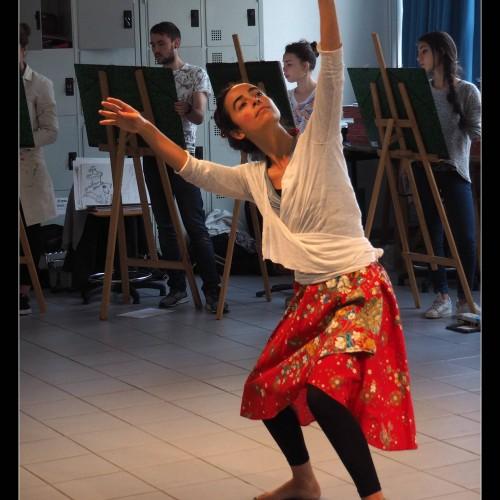 Danse et modèle vivant