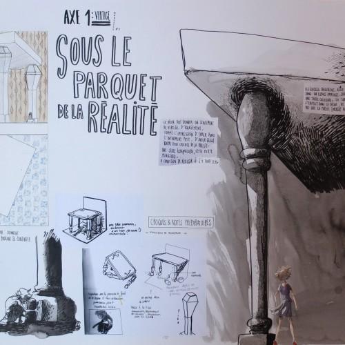 Scénographies, à partir d'Alice au pays des merveilles de Lewis Carroll