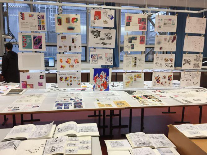 Le samedi 4 février ont eu lieu les portes ouvertes de notre pôle de design du Lycée Léonard de Vinci.