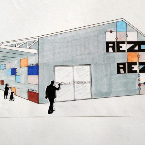 1STD2A - démarche créative / identité visuelle d'un nouveau lieu culturel le